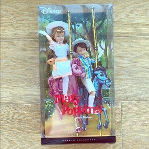 Mary Poppins Jane & Michael Dolls 2007